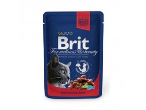 Brit Premium Cat kapsa with Beef Stew   Peas 100g e7f7fc12d14