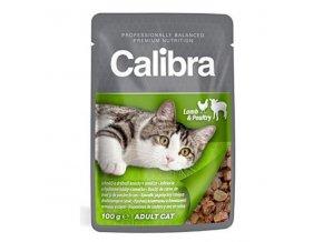 Calibra Cat kapsa jahňacie a hydinové v omáčke 100g