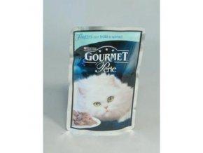 Gourmet Perle kapsa pstruh+špenát 85g