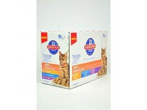 Hill's Feline kapsa Adult Multipack Ch.,O.F.,B 12x85g