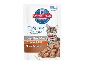 Hill's Feline kapsa Adult Young Sterilised Turkey 85g