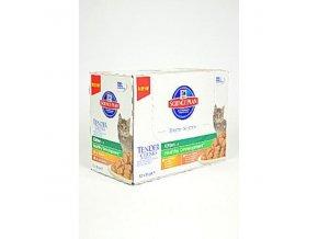 Hill's Feline kapsa Kitten Multipack Ch.,Turk. 12x85g
