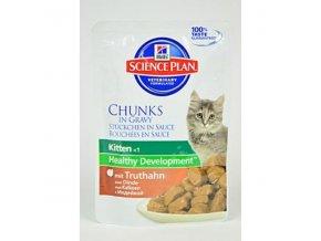 Hill's Feline kapsa Kitten Turkey 85g