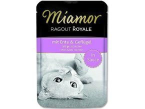 Miamor Cat Ragout kapsa kačica+kuracie na šťave 100g