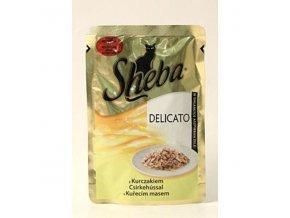 Sheba kapsa Delicato kuracie v želé 85g