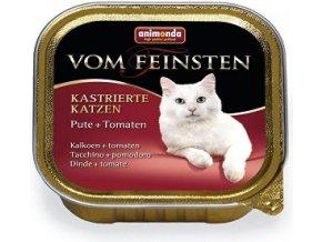 Animonda paštéka pre kastr. mačky - morka/rajč. 100g