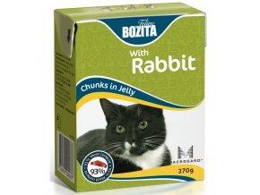 Bozita Cat kúsky v želé s králikom Tetrapak 370g