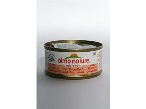 Almo Cat Nature Classic konz. krevety+tuniak 70g