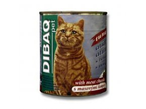 Dibaq Pet mačka konz. Ryba 810g
