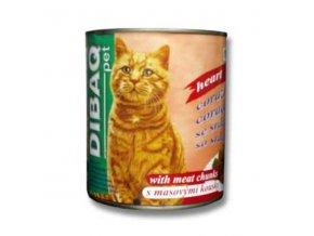 Dibaq Pet mačka konz. Srdce 810g