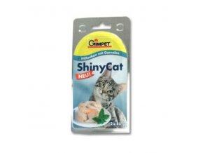 Gimpet konz. ShinyCat kura/krevety 2x85g