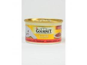 Gourmet Gold konz. hov.a kura v rajč.om.85g