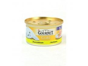 Gourmet Gold konz. jemná paštéka s kuracím mäsom 85g