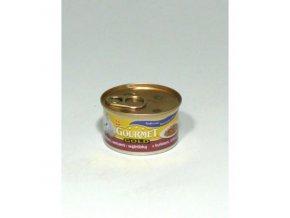 Gourmet Gold konz. jemná paštéka kura a pečienka 85g