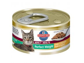 Hill's Feline Adult Perfect Weight 85g