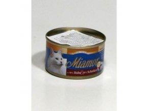 Miamor Cat Filet kura+šunka 100g