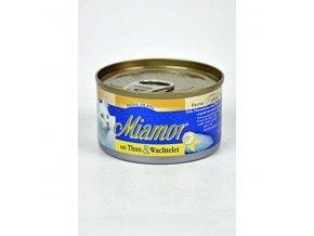 Miamor Cat Filet tuniak+prepeličie vajce 100g