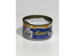 Miamor Cat Filet tuniak+kalamáre 100g
