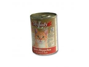 MyLady mačka konz. hovädzie+pečeň 415g