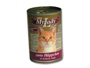 MyLady mačka konz. králik+srdce 415g