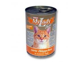 MyLady mačka konz. moriak+kačica 415g