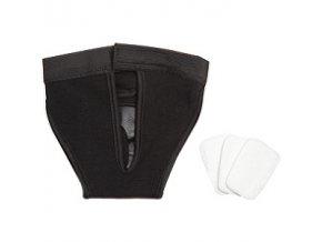 Háracie nohavičky čierne vel. 2 32x39cm KAR new