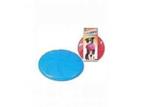Hračka pes lietajúci tanier Frisbee plastový 23,5cm