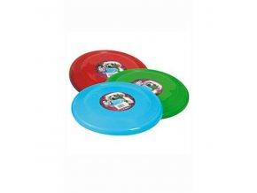 Hračka pes Lietajúci tanier plast 23cm rôzne farby KAR