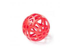 Hračka pes lopta dierovaná plávacia Vanil. 14 cm SP