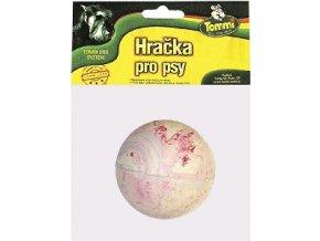 Hračka pes lopta tvrdá guma 6 cm