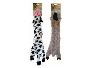 Hračka pes Šustiaca 35cm Skinneeez