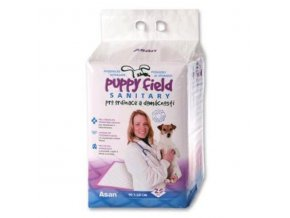 Podložka Puppy Field Sanitary 90x60cm 25ks
