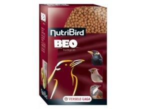 NutriBird Beo komplet - celoročné extrudy pre Beo, majny a väčšie ovocno a hmyzožravé druhy 500g