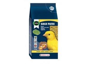 Gold Patee Canaries - vaječné krmivo vlhčené medom pre všetky kanáre