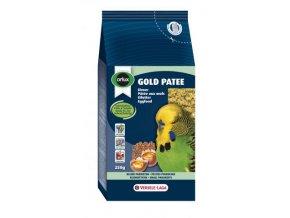 Gold Patee Budgies and Small Parakeet - vaječné krmivo vlhčené medom pre andulky a malé papagáje