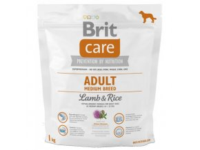 Brit Care Dog Adult Medium Breed Lamb & Rice 1kg