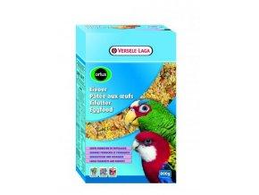 Eggfood dry for Parrots and Large Parakeets - pre stredné a veľké papagáje s hmyzom, krevetami, šípkami, jarabinou, hrozienkami