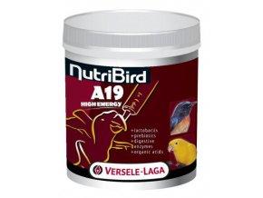 NutriBird A19 High Energy - Dokrmovacia zmes pre všetky druhy vtákov s extrémnou náročnosťou na energetickú hodnotu krmiva