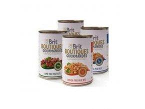 Brit Boutiques Gourmandes Chicken True Meat Bits 400g