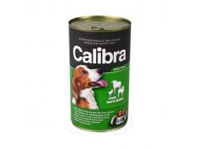 Calibra Dog konz. jahňacie+hovädzie+kuracie v želé 1240g