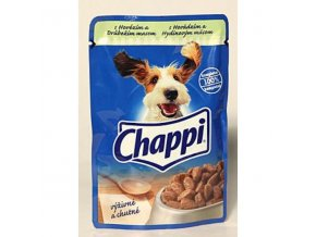 Chappi kapsička s hovädzím a kuracím mäsom 100g