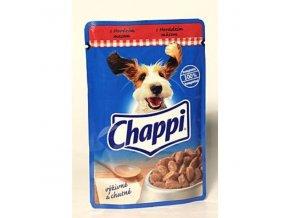 Chappi kapsička s hovädzím mäsom 100g