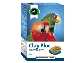 Clay Bloc Amazon River - ílová tehla pre väčšie papagáje 550g