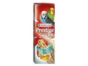 Prestige Sticks Budgies Exotic fruit - 2 tyčinky s ovocím pre andulky 60g