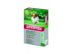 Advantix Spot On 1x0,4ml pre psov do 4kg (1 pipeta)