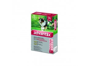 Advantix Spot On 1x2,5ml pre psov 10-25kg (1 pipeta)