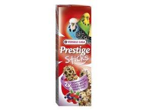 Prestige Sticks Budgies Forest fruit - 2 tyčinky s lesním ovocím pre andulky 60g