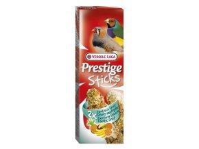 Prestige Sticks Finches Exotic fruit - 2 tyčinky pre drobné exoty s ovocím 60g