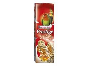 Prestige Sticks Big Parakeets Nuts & honey - 2 tyčinky pre stredné papagáje s medom a orechami 140g