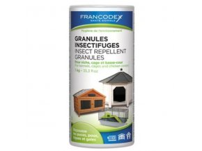 Francodex granule repelentné in+out 1kg